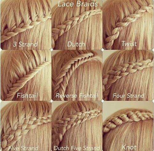 Different Types of Braids Hairstyles